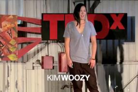 Kim Woozy talks at TEDx